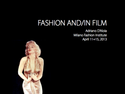 Fashion and-in Film